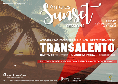 Sunset sessions, Goa, India
