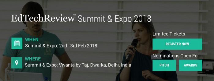 EdTechReview Summit & Expo 2018, North East Delhi, Delhi, India