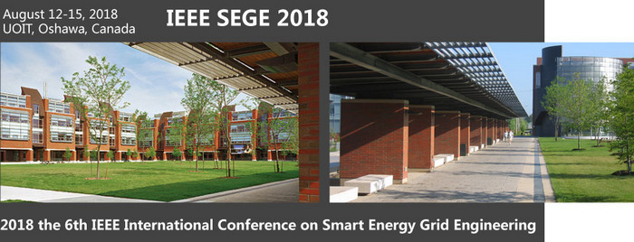 2018 the 6th international conference on Smart Energy Grid Engineering (SEGE 2018), Ontario, Canada