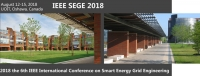 2018 the 6th international conference on Smart Energy Grid Engineering (SEGE 2018)