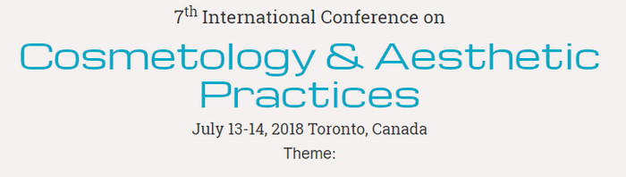 7th International Conference on Cosmetology and Aesthetic Practices, Wellington, Ontario, Canada