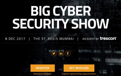Big Cyber Security Show, Mumbai, Maharashtra, India