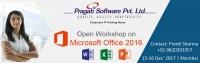 Workshop on MS OFFICE 2016
