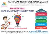 National Level Management Meet RIMS MEET -17