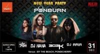 New Year Party at Pondicherry  #PONBURN#
