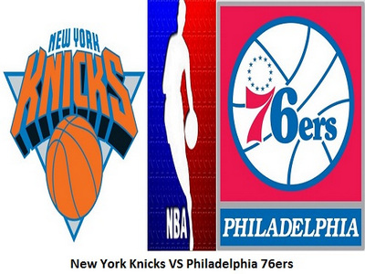 New York Knicks vs Philadelphia 76ers, New York, United States