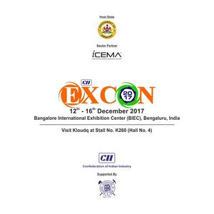 Kloudq @Excon 2017, Bangalore, Karnataka, India