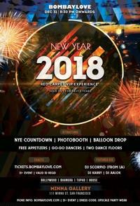 Bombay Love - NYE 2018 Bay Area