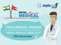 Zoylo Digihealth is hosting CME's for Doctors by Co-Sponsoring Nepal Medical Show - 2017