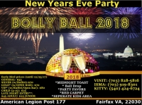 New Year's Eve Bolly Ball 2018