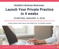 Healthie's Business Boot Camp for Nutrition Professionals : Launch Your Private Practice in 4 Weeks.
