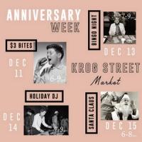 Krog Street Market's 3rd Anniversary Celebration Week