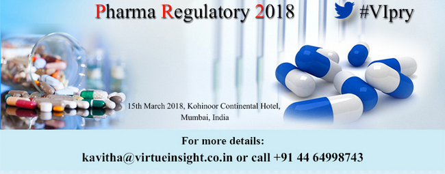 Pharma Regulatory 2018, Mumbai, Maharashtra, India