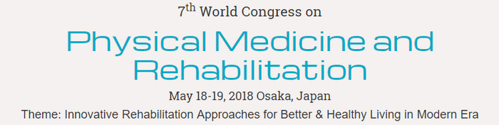 7th World Congress on Physical Medicine and Rehabilitation, Osaka, Japan