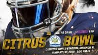 Citrus Bowl: LSU Tigers vs. Notre Dame Fighting Irish