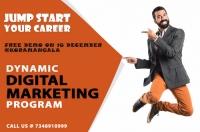 Free Demo on Dynamic Digital Marketing in Koramangala, Bangalore on 16th of December.