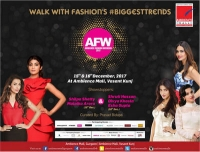 Designer & Star Studded Fashion Shows at Ambience Fashion Weekend 2017