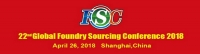 22nd Global Foundry Sourcing Conference 2018