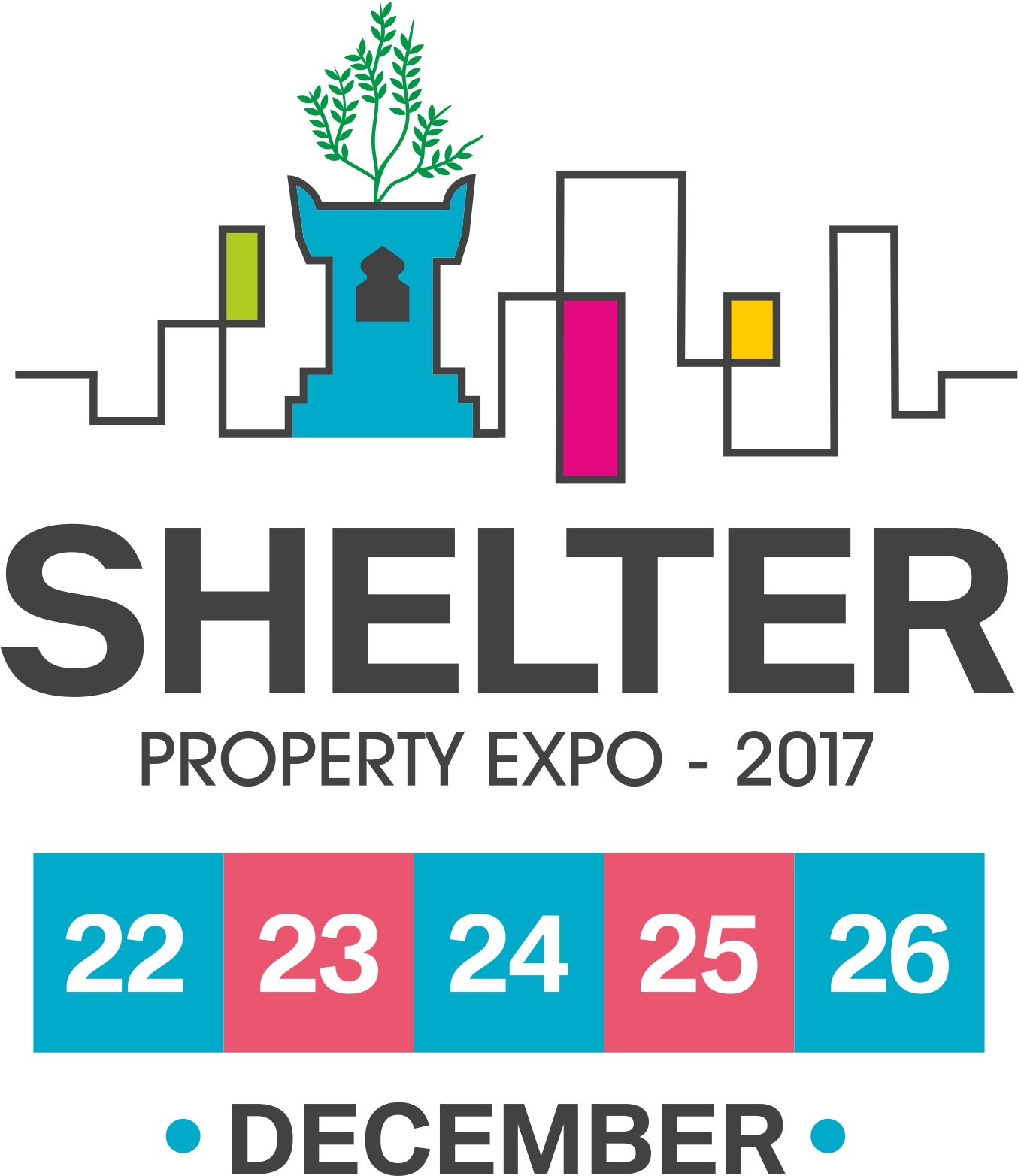 Shelter Property Expo 2017, Nashik, Maharashtra, India