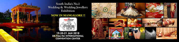 Asia Wedding Fair, Mangalore, Karnataka, India