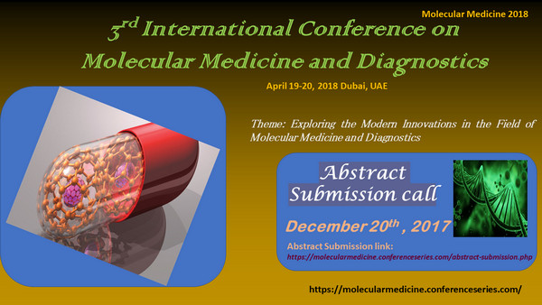 3rd International Conference on Molecular Medicine and Diagnostics, Dubai, United Arab Emirates