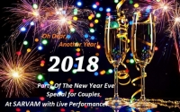 Party Of The New Year Eve Special for Couples - At SARVAM with Live Performance!