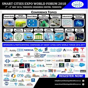 Smart Cities Expo World Forum, Toronto, Ontario, Canada