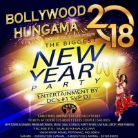 Bollywood Hungama 2018 - New Year's Eve Party (DC)