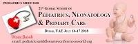 21st Global Summit on Pediatrics, Neonatology & Primary Care