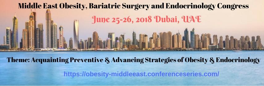 Middle East Obesity, Bariatric Surgery and Endocrinology Congress, Dubai, United Arab Emirates