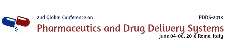 2nd Global Conference on Pharmaceutics and Drug Delivery Systems, Rome, Lazio, Italy