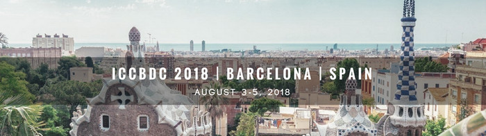 2018 2nd International Conference on Cloud and Big Data Computing (ICCBDC 2018), Barcelona, Spain