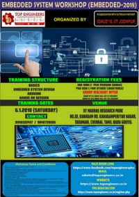 Embedded System Workshop (EMBEDDED-2018)