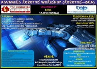 Advanced Robotics Workshop (ROBOTICS-2018)