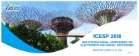 2018 International Conference on Electronics and Signal Processing (ICESP 2018)