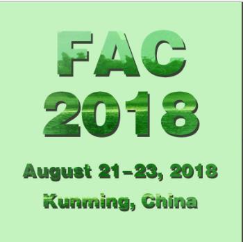 The 4th Fisheries and Aquaculture Conference (FAC 2018), Kunming, Yunnan, China