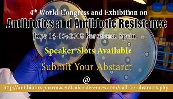 4th World Congress and Exhibition on Antibiotics and Antibiotic Resistance, Barcelona, Cataluna, Spain