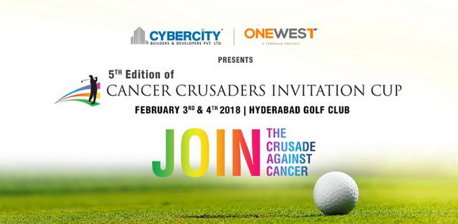 Cancer Crusaders Invitation Cup 2018, Hyderabad, Telangana, India