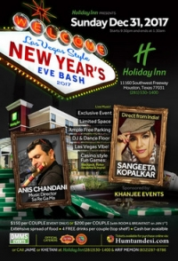 Las Vegas Style New Year's Eve Bash