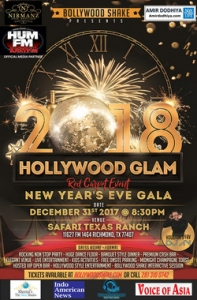 Bollywood Shake's New Year's Eve Gala 2018