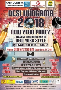 Desi Hungama New Year Party