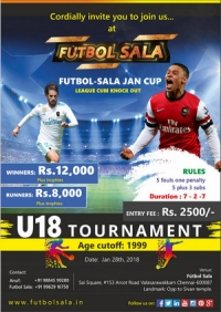 Futbol Sala U18 Tournaments