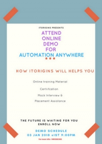 Automation Anywhere Online live Demo