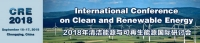 International Conference on Clean and Renewable Energy (CRE 2018)