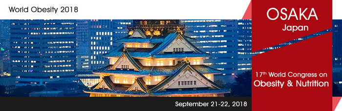 17th World Congress on  Obesity & Nutrition, Osaka, Japan