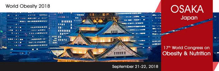 17th World Congress on  Obesity & Nutrition, Osaka, Japan
