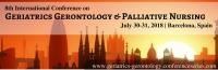 8th International Conference on Geriatrics Gerontology and Palliative Nursing