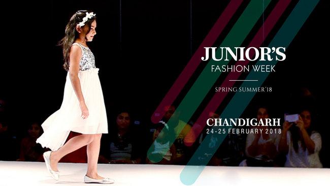Junior's Fashion Week Spring Summer 2018 Chandigarh, Chandigarh, India