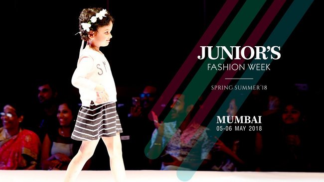 Junior's Fashion Week Spring Summer 2018 Mumbai, Mumbai, Maharashtra, India