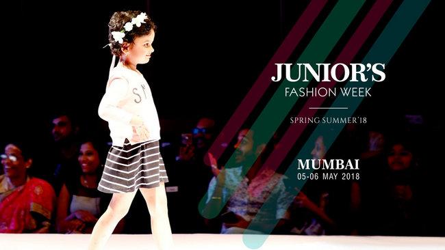 Junior's Fashion Week Spring Summer 2018 Mumbai, Mumbai, Maharashtra, India